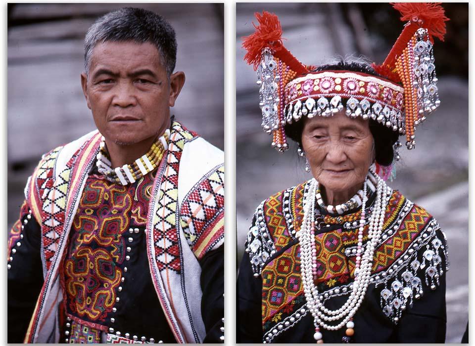 布農族是父系繼嗣的社會