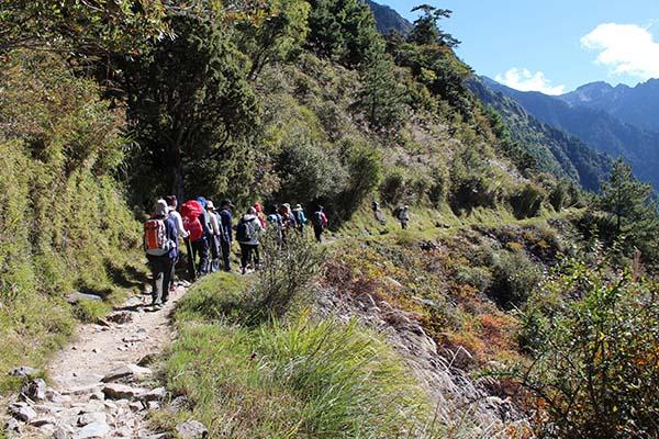 中級登山步道