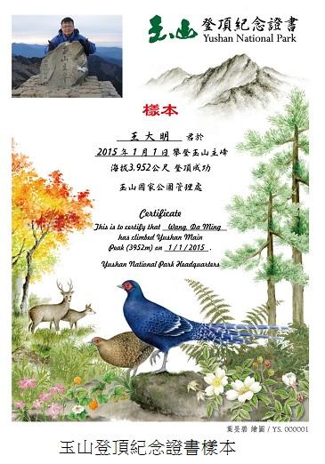 Summit Certificate