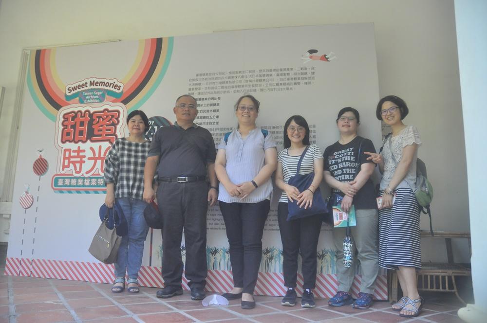 公路總局第三區養護工程處參訪合照