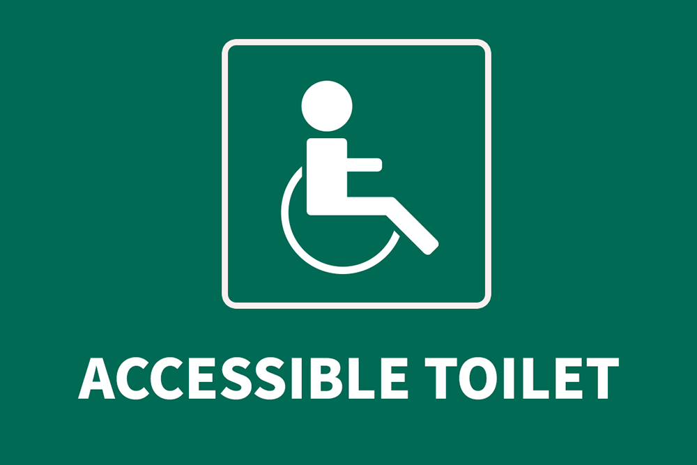 1st floor accessible toilet